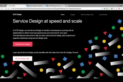 IBM GTS Service Design Website