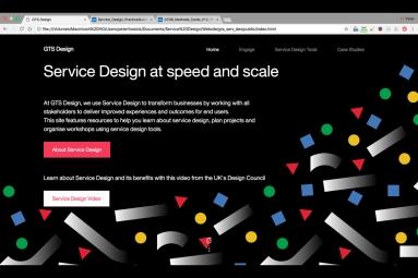 IBM GTS Service Design Website